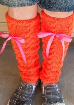 HAND KNITTED LEG WARMERS PATTERNS | HAND WARMERS & FOOT WARMERS